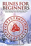 Runes for Beginners: A Guide to Reading Runes in Divination, Rune Magic, and the Meaning of the Elder Futhark Runes (Divination for Beginners Series)