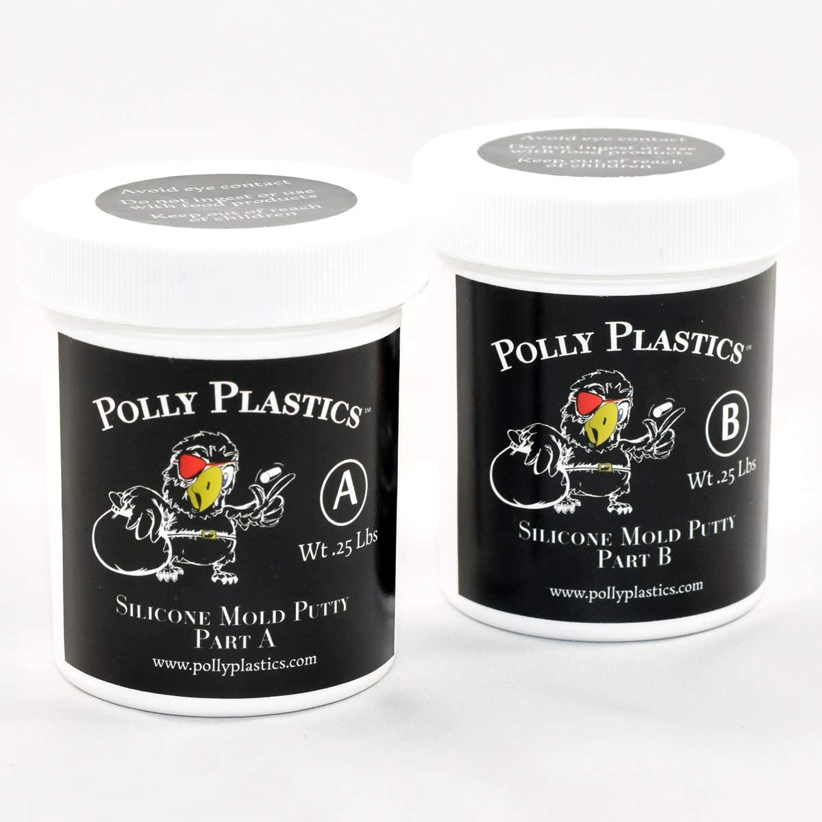 Polly Plastics Silicone Molding Putty - 2 Pl 5 ☆ very popular for Moldable Lb Max 70% OFF 1