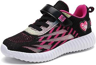 Basket Enfants Garçons Fille Chaussures de Sport Antidérapantes Garçons Sneakers Respirant Légères pour Fille