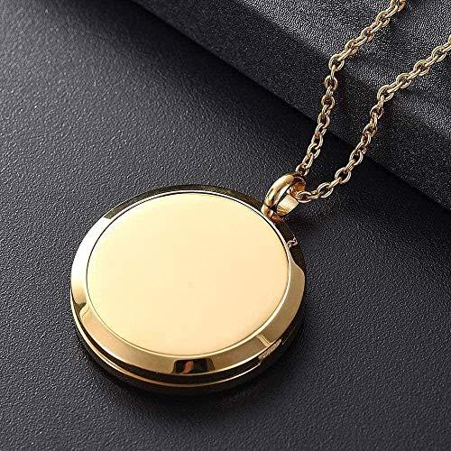 OPPJB Collar De Cenizas Colgante Dejoyería Hermosa Forma Difusor De Perfume Y Aceite Esencial Medallón Colgante Pulsera Aromaterapia Pulsera 12 Color Cojín-Ije0026