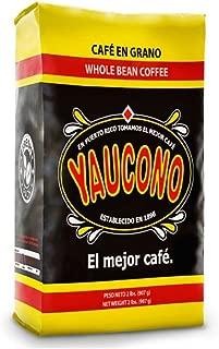 Cafe Yaucono Original Coffee Beans 2 pounds bag