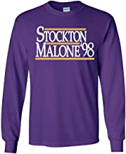 Long Sleeve Purple Utah Stockton Malone 98