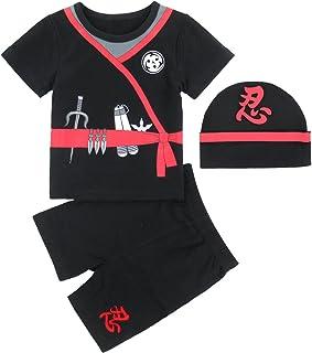 MOMBEBE COSLAND Baby Jungen Karneval Kostüm Kleidung Sets 3tlg