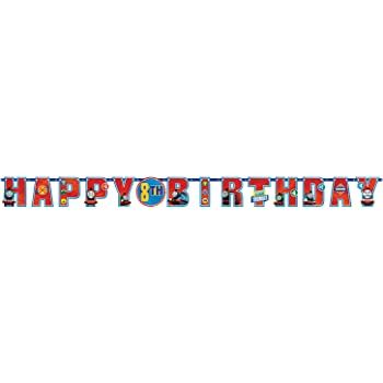 Amscan International 121752 1.8 M x 14cm Thomas and Friends Add an Age Letter