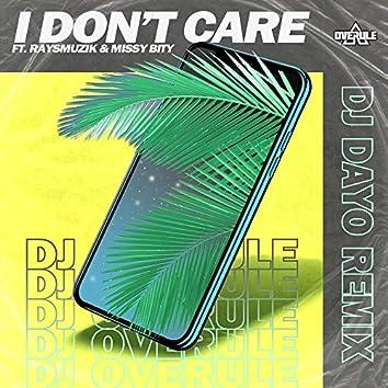 I Don't Care (Remix)