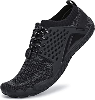 Mens Womens Trail Running Shoes Hiking Shoes Wide Toe Box Quick Drying Barefoot