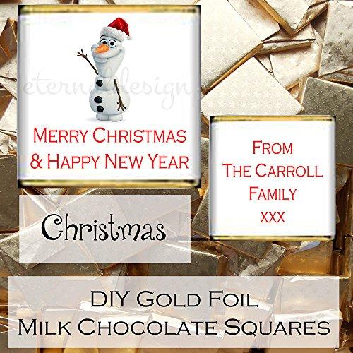 Eternal Design personalizzato lucido DIY Christmas cioccolato al latte favori Xdlsc 44 #NAME?