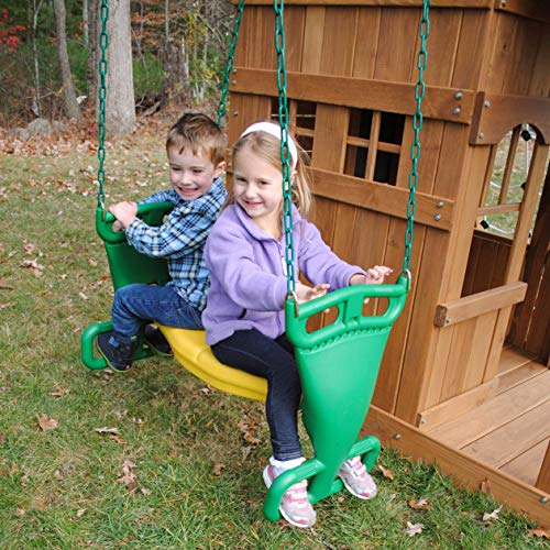 Creative Playthings Back to Back Glider w/Chain & Glider Brackets