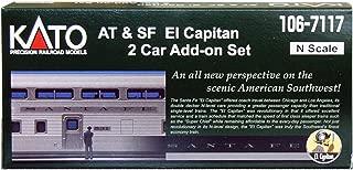 N Santa Fe El Capitan 2-Car Named Train Add-on Set