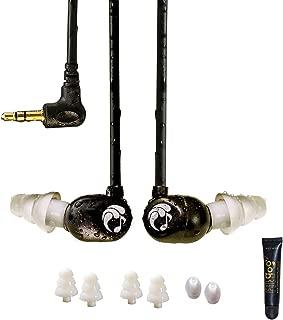 Swimbuds Flip Waterproof Short-Cord Headphones (Reinforced Cord)