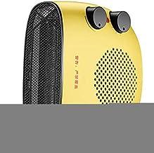 YLJYJ Convector portátil Dispensador de Agua Caliente Calentador de Estufa Uso Vertical/Horizontal Protección contra sobrecalentamiento Ahorro de energía Baño silencioso Chimenea, WH (Fuego)