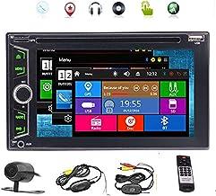 پشتیبان گیری از دوربین بی سیم شامل 2 دستگاه دی وی دی اتومبیل پلیر Autoradio استریو با سیستم Wince Automobile 3D GPS Auto Radio PC الکترونیکی Double Din MP3 Music Touchscreen صفحه نمایش در مرکز کنسول N