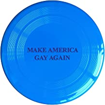 VOLTE Make America Gay Again Yellow Flying-discs 150 Grams Outdoor Activities Frisbee Star Concert Dog Pet Toys