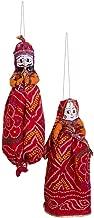 SAARTHI Rajasthani Famous Handmade Puppets / Katputli (Set of 2 piece)