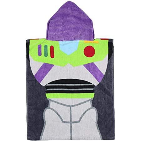 Cerdá - Toalla Poncho Infantil con Capucha de Buzz Lightyear