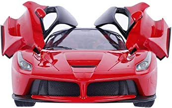 Amisha Gift Gallery® Remote Cars Kids Toys Remote car Rechargeable Ferrari Remote Control Car Rechargeable Opening Doors ABS Plastic Remote Controlled Ferrari Like Model Sports Car with Openable Doors