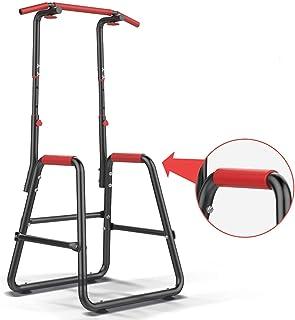 ぶら下がり健康器 改良強化版懸垂マシン 高さ190-210cm 2段階調節 筋肉トレーニング 大胸筋 背筋 腹筋