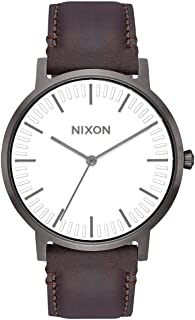 Nixon Porter Leather Modern Men's Watch (40mm. Leather Band)