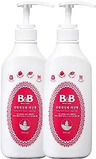 Sponsored Ad - B&B Feeding Bottle Cleanser Liquid Type Bottle 17.7 fl.oz. (600ml) 2 Pack - Baby Bottle and Dish Soap, Eco-...