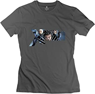 StaBe Women's Wolverine XMen Logo T-Shirt 100% Cotton Cool
