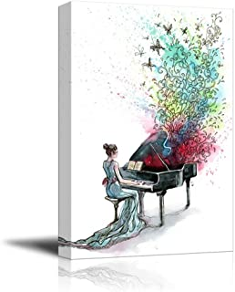 Best grand piano wall art Reviews