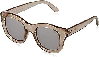 LE SPECS Women's Runaways LSP1902139  Wayfarer Sunglasses,Stone,50 mm