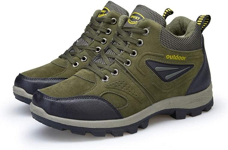 XINGUANG Chaussures de randonnée pour Hommes Chaussures de Marche antidérapantes pour Hommes Chaussures de Sport pour Hommes