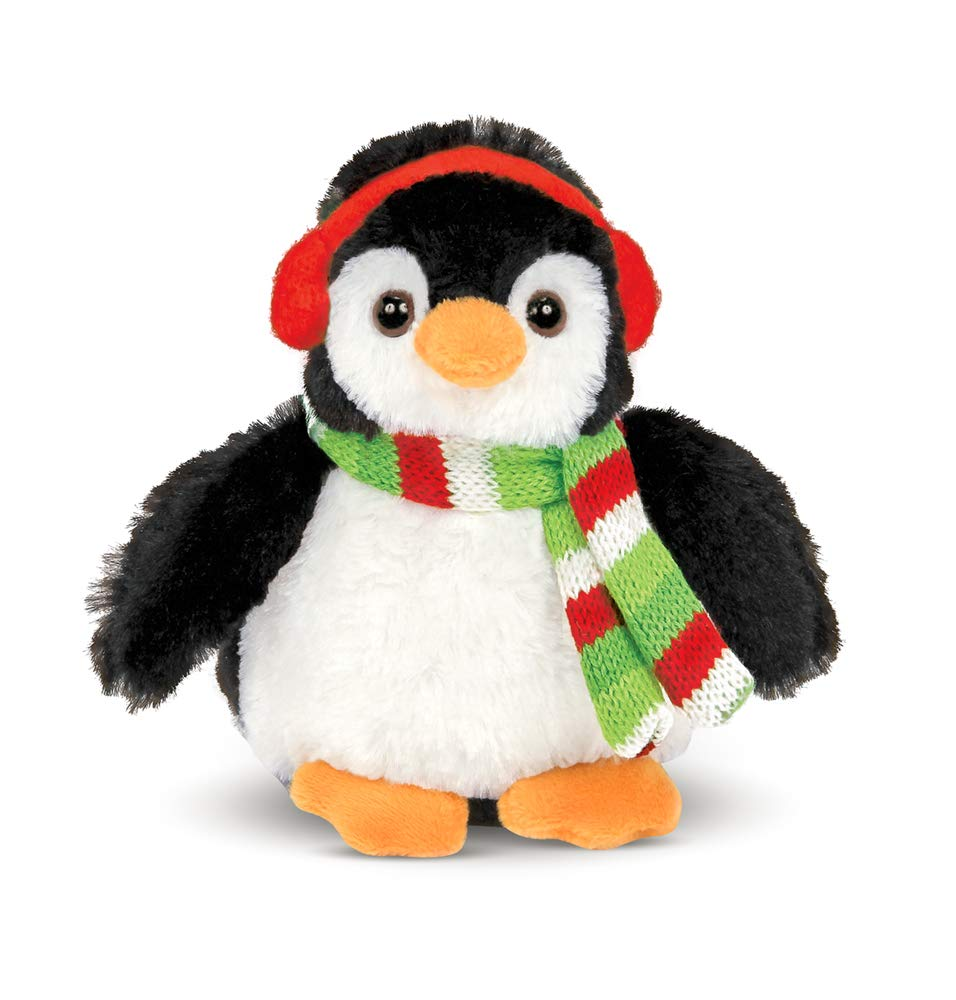 Image of Colorful Bearington Christmas Penguin Plush Toy