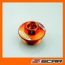 TENDEUR CHAINE KTM 125 150 250 350 450 SX SX-F XC XC-F SMR 02-12 ORANGE SCAR