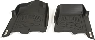 Westin Wade 72-110001 Black Sure-Fit Front Right and Left Molded Floor Mat Set - 1 Pair