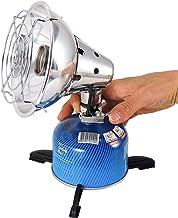 YAMMY Calentador de Gas portátil Calentador al Aire Libre Propano Butano Calentador de Carpa Estufa de Camping Estufa Horno al Aire Libre Pesca Caza Propano Butano Carpa H (Chimeneas eléctricas)