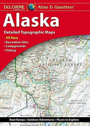 DELORME ATLAS & GAZETTEER 8/E: Alaska