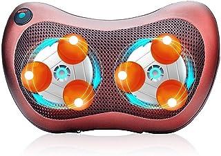 Neck Massager for Women,Neck Massage Pillow Back Massager Cushion Neck Massager Deep Tissue Electric Shiatsu 3D Kneading