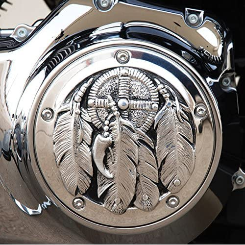 Derby Cover Black Domed for Harley Softail 1999-2014