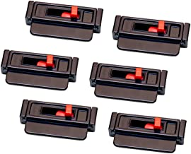 6-Pack Seat Belt Tension Adjuster - Universal Fit, Instantly Relieves Tightness Discomfort and Webbing Irritation While Driving and Riding in Cars
