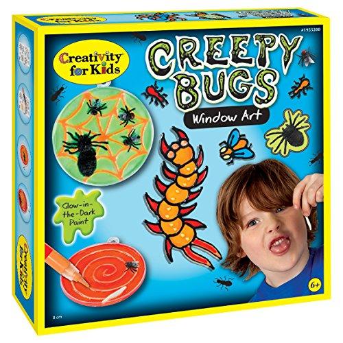 Creativity for Kids - Cfk1955 - Kit De Loisirs Créatifs - Kit De Petites Bêtes Adhésives pour Fenêtre