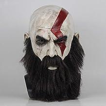 JNKDSGF Horror Masker met Baard Cosplay Kratos Hor...