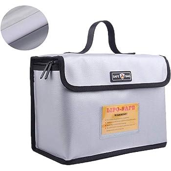 LiPo Battery Guard Bag Feuerbestaendige Sicherheit Schutztasche Ladegeraet  O6W4