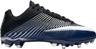 Vapor Speed 2 TD Football Cleats (11.5, Navy/Metallic Silver/Black/White)