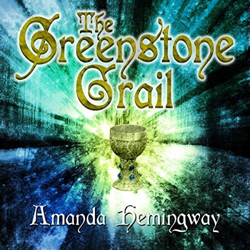 The Greenstone Grail audiobook cover art