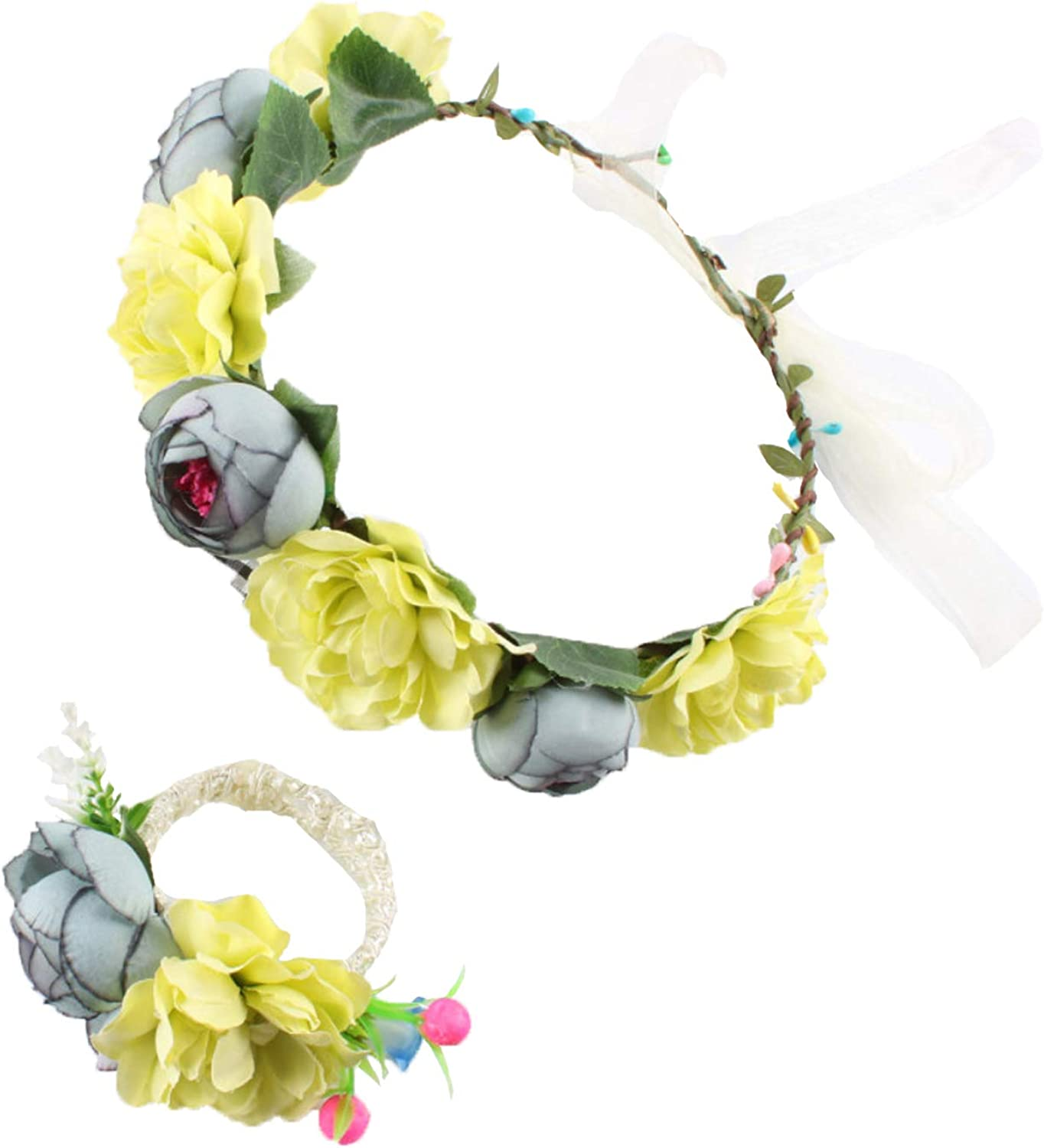 DDazzling Nature Berries Flower 5 ☆ very popular Crown with Quantity limited Wrist Floral for Band