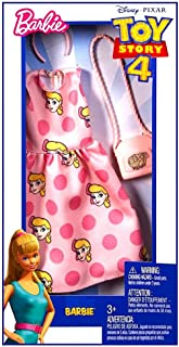 Barbie Toy Story 4 Doll Clothes Dress, Purse & Hair Piece