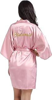 DF-deals Women's Nightshirts Satin Chemises Sexy Mini Slip Pajamas Sleepwear Babydoll Outfit Nightgown Short Style