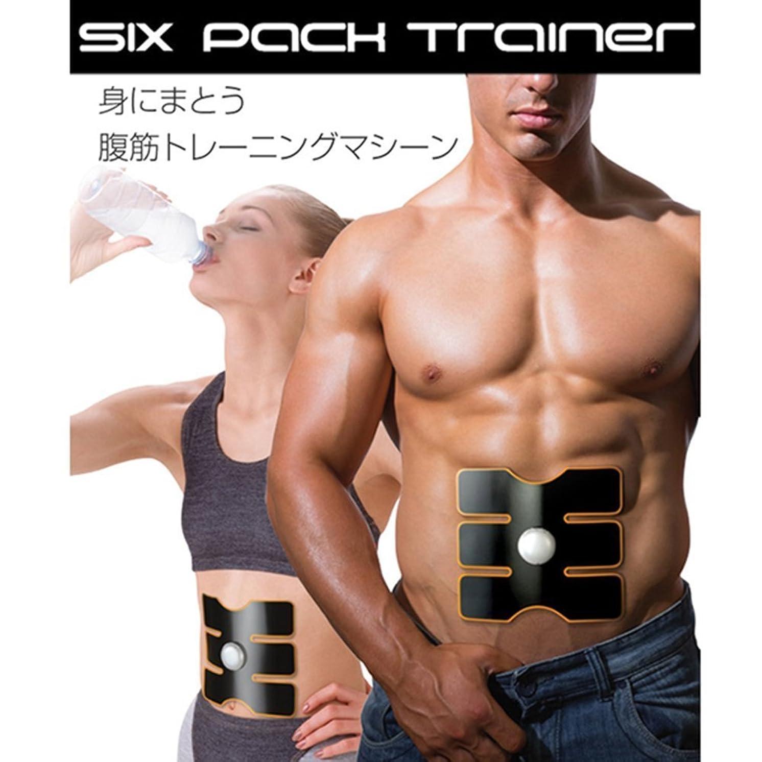 人種来て解き明かす筋肉トレーニングマシーンSIX PACK TRAINER WGSP074