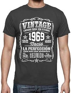 20d770ab6 latostadora Camiseta Vintage 1969 la perfección - Camiseta Hombre clásica