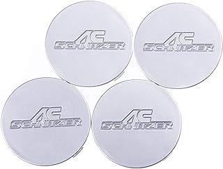SCHNITZER Wheel Covers - Wheel Center Caps Round 75mm for Type II Type III OEM 36133897 – Set of 4