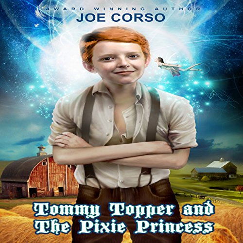 Tommy Topper and the Pixie Princess audiobook cover art