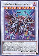 Yu-Gi-Oh! - Hot Red Dragon Archfiend King Calamity (SHVI-EN097) - Shining Victories - Unlimited Edition - Ultra Rare