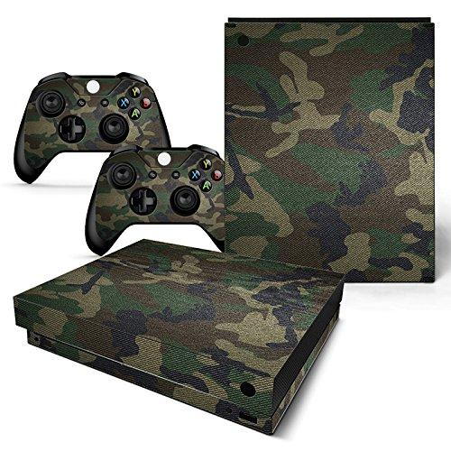 XBOX ONE X Skin Design Foils Pegatina Set - Camouflage 3 Motivo