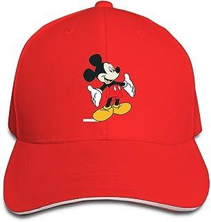 FOOOKL Cartoon Mickey Mouse Cap Unisex Low Profile Cotton Hat Baseball Caps Navy